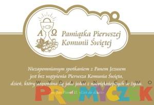 """Prenumerata roczna """"Małego Promyczka 3+"""" - Pamiątka Pierwszej Komunii Świętej od nr 5/18 do 4/19"""