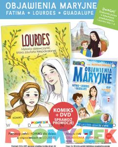 Komiks Lourdes + DVD Objawienia Maryjne